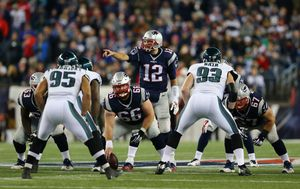 New England Patriots - Philadelphia Eagles (Foto: AFP)