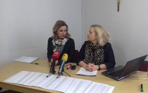 Nina Kuluz na konferenciji u Splitu (Foto: Mario Jurič)