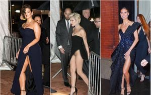 Heidi Klum, Ashley Graham i Halsey (Foto: Profimedia)