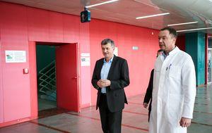 Milan Kujundžić u KB-u Dubrava (Foto: Petar Glebov/PIXSELL)