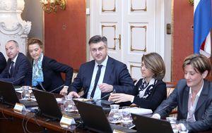 Andrej Plenković predsjedava sjednicom Vlade (Foto: Arhiva/Patrik Macek/PIXSELL)