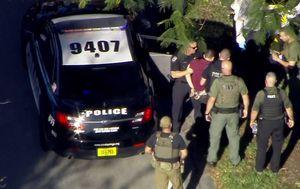 Uhićenje napadača s Floride (Foto: screenshot Reuters)