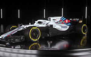 Williamsov bolid za 2018. (Foto: Williams Martini Racing)