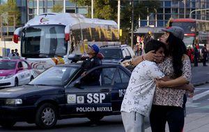 Snažan potres preplašio stanovnike Meksika (Foto: AFP)