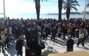 Prosvjed zbog Karepovca (Foto: Mario Jurič)