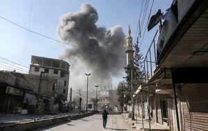 Ranjeni sirijski civil u napadima Asadovog režima na Gutu (Foto: AFP)