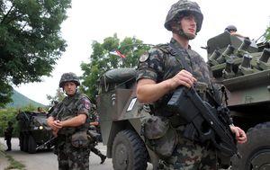 Slovenski vojnici (Arhiva: AFP)