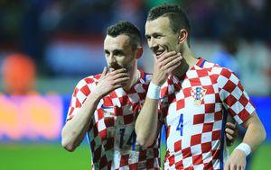 Perišić i Brozović slave pogodak u Osijeku (Foto: Davor Javorovic/PIXSELL)