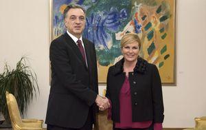 Filip Vujanović i Kolinda Grabar-Kitarović (Foto: PR)