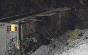 Prometna nesreća u Kanadi (Screenshot: AP)