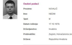Nestali Nedim Novalić (Screenshot Nestali.hr)