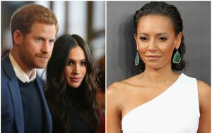 Princ Harry, Meghan Markle, Mel B (FOTO: Getty)