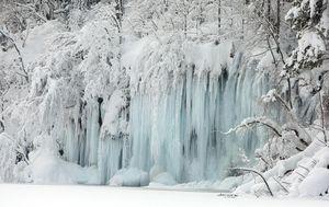 Plitvička jezera pod snijegom - 7