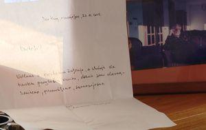 Pismo koje je obitelji napisao Slobodan Praljak (Foto: Dnevnik.hr) - 3