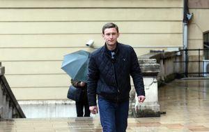 Ivan Jelić dolazi na Općinski sud u Rijeci (Foto: Goran Kovacic/PIXSELL)