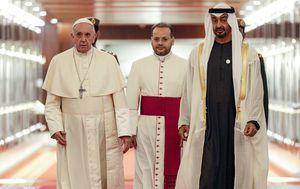 Papa Franjo susreo se s princem Mohamedom bin Zajedom (Foto: AFP)
