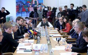 Sjednica Odbora za Ustav (Foto: Patrik Macek/PIXSELL)