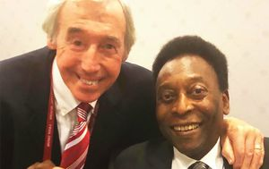 Gordon Banks i Pele (Foto: Facebook)