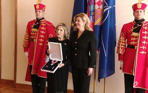 Predsjednica odlikovala povjesničarku Gitman (Foto: Dnenvik.hr)
