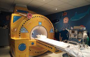MR kao podmornica u Klaićevoj bolnici (Foto: Facebook)