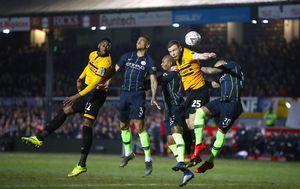 Newport - Manchester City (Foto: Nick Potts/Press Association/PIXSELL)