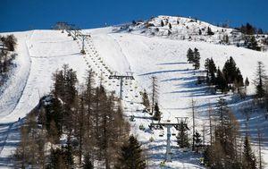 Slovensko skijalište (Foto: Miro Majcen/24ur.com)