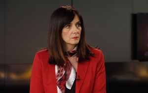Ministrica Blaženka Divjak gostuje u Dnevniku Nove TV (Foto: Dnevnik Nove TV)