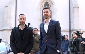 Ivo Šegota i Mladen Kožić (Foto: Patrik Macek/PIXSELL)