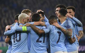 Slavlje igrača Manchester Cityja (Foto: INA FASSBENDER/DPA/PIXSELL)