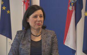 Věra Jourová, povjerenica Europske komisije za pravosuđe i prava potrošača (Foto: Dnevnik.hr)