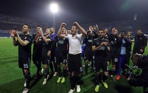 Dinamo slavi (Foto: Goran Stanzl/PIXSELL)