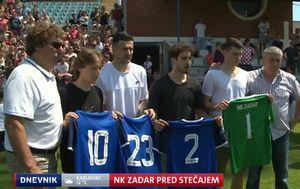 Luka Modrić, Danijel Subašić, Šime Vrsaljko i Dominik Livaković
