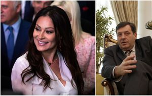Svetlana Ceca Ražnatović, Milorad Dodik (Foto: PIXSELL)