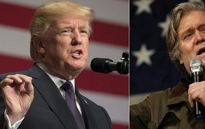 Donald Trump i Steve Bannon (Foto: AFP)