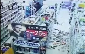 Snimke potresa u Crnoj Gori (Foto: screenshot/YouTube)