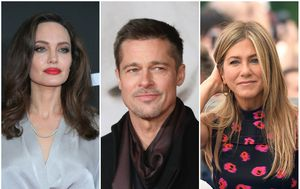 Angelina Jolie, Brad Pitt, Jennifer Aniston (FOTO: Getty)