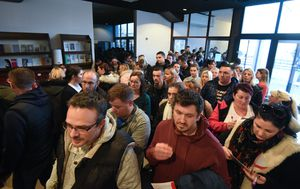 Veliki odaziv građana koji žele donirati koštanu srž za malenog Ivana Marušića (Foto: Marko Prpic/PIXSELL)
