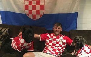 Stipe Miočić prati hrvatsku reprezentaciju (Instagram)
