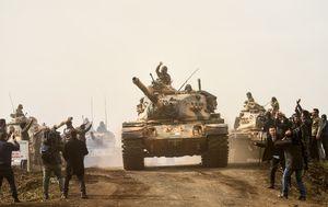 Turska granatirala ciljeve u sjevernoj Siriji (Foto: AFP)