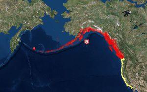 Razoran potres u Aljaskom zaljevu (Foto: tsunami.gov)