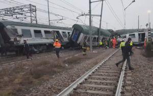 Nesreća vlaka u Italiji (Screenshot APTN)