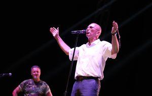 Dario Kordić na Thompsonovom koncertu (Foto: Ivo Cagalj/PIXSELL)