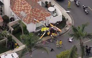 Pad helikoptera na kuću u Kaliforniji (Foto: Reuters)