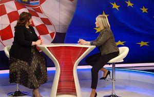 Gošća Dnevnik Nove TV resorna ministrica Gabrijela Žalac (Foto: Dnevnik.hr) - 1