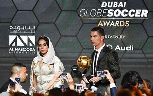 Ronaldo i Georgina (Foto: AFP)