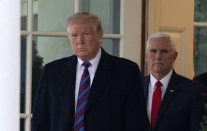 Donald Trump i Mike Pence (Foto: AFP)