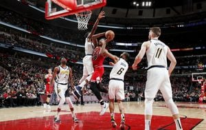 Indiana Pacers - Chicago Bulls (Foto: AFP)