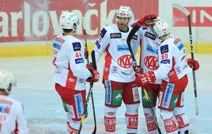 Hokejaši KAC-a (Foto: Marko Prpić/PIXSELL)