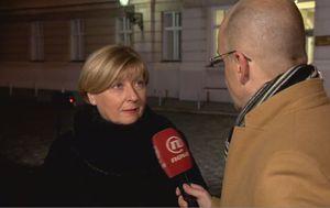 Bivša predsjednica Ustavnog suda Jasna Omejec i Mislav Bago (Foto: Dnevnik,hr)