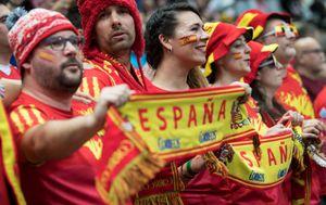 Španjolska navijačica (Foto: AFP)